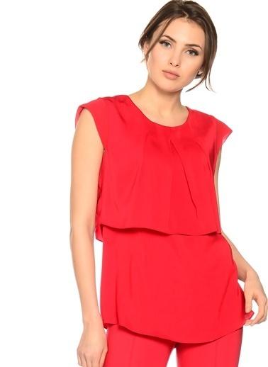House Of Camellia Abiye Bluz Kırmızı